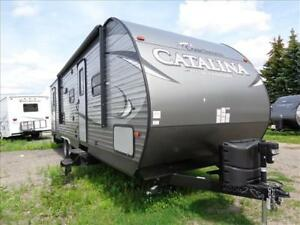 Super Clearance on New Catalina 283DDS Bunk Model Trailer