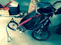 Chariot w bike, stroller, jogger and baby sling