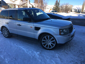 PRICE DROP RANGE ROVER AWD SUPERCHARGED  LOW KM