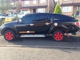 Mitsubishi L200 Raging Bull Ltd Edition