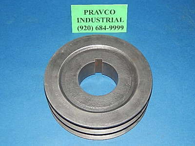 Browning 2tc70 Pulley Sheave Double Groove 7-38 7.375 Outer Diameter