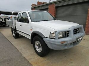 2005 Ford Courier PH GL (4x4) White 5 Speed Manual Crewcab Holden Hill Tea Tree Gully Area Preview