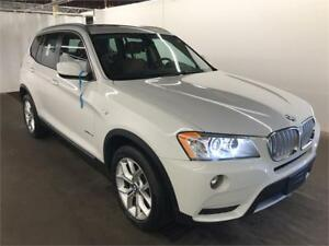 2014 BMW X3/4WD* PANORAMA ROOF* CAMERA*TRÈS PROPRE* $69 SEMAINE