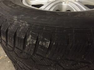 4 Winter tires and rims with TPMsensors St. John's Newfoundland image 2