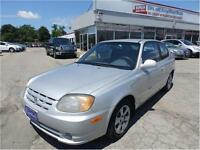 2004 Hyundai Accent GS 3 YEARS POWER TRAIN WARRANTY AVAILABLE