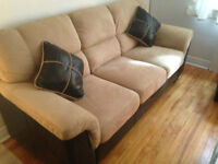 Beautiful BRICK couch