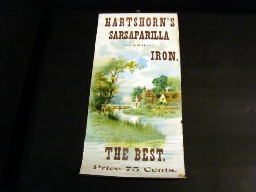 Circa 1900 Hartshorn Sarsaparilla Advertisement