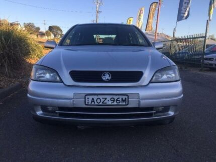 2003 Holden Astra TS CD Silver 5 Speed Manual Hatchback