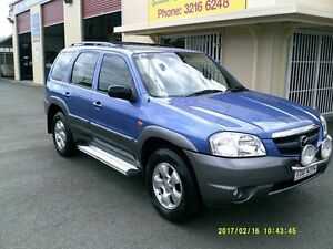 2001 Mazda Tribute Limited Blue 4 Speed Automatic 4x4 Wagon Coopers Plains Brisbane South West Preview
