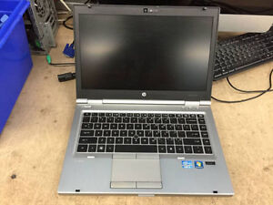 HP EliteBook 8460p 2.5GhZ Core i5 Laptops For Sale! 4GB RAM!
