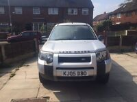 2005 Land Rover Freelander TD4 E 2L Diesel 5drs silver Automatic May swape