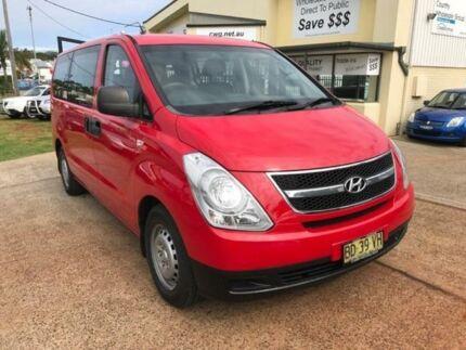 2008 Hyundai iLOAD TQ-V Red Sports Automatic Van