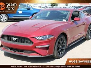 2018 Ford Mustang ECOBOOST, 100A, SYNC, REAR CAMERA, MYKEY, MANU