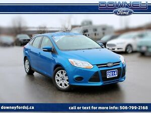 2014 Ford Focus SE 4dr Sedan HTD SEATS READY FOR THE ROAD!!!