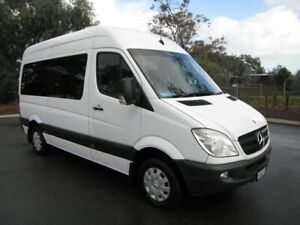 2011 Mercedes-Benz Sprinter NCV3 MY11 316CDI Low Roof MWB Transfer White 5 Speed Automatic Bus Maddington Gosnells Area Preview