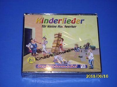 CD, Kinderlieder für kleine Handwerker 2 CD`s