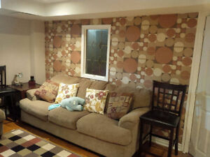 1 Bedroom basement apartment with separate entrance in oakville