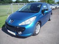 PEUGEOT 207 SPORT - FSH - AUTO - Blue Petrol, 2009