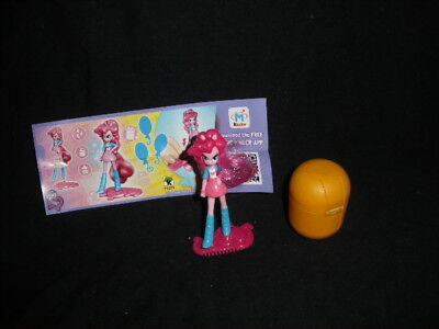 G4 My Little Pony Equestria Girls Pinkie Pie Kinder Surprise Egg Toy Figure 5 for sale  Shipping to South Africa