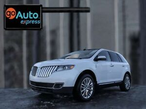 2013 Lincoln MKX AWD, BRUNELO LEATHER, NAVIGATION, MOONROOF