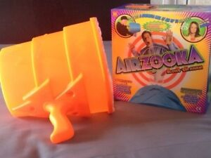 Airzooka Bazooka Blaster Airzooka Launcher Kids Toy  Air Cannon Shooter Orange