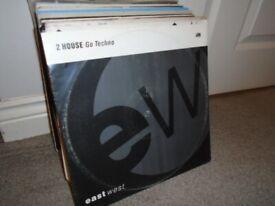 "60 x 12"" Old Skool House / Dance Record Vinyl Collection. DJ JOBLOT"