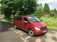 2010, 9 seater minibus, long, 0 owners, fsh, immaculate.
