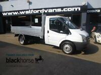 2008 Ford Transit T350 2.4TDCi *Brand New Alloy Back* Diesel white Manual