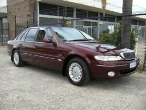 1998 Ford Fairlane NL Ghia Burgundy 4 Speed Automatic Sedan Wangara Wanneroo Area Preview