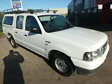 2006 Ford Courier PH GL (4x4) White 5 Speed Manual Dual Cab Point Cook Wyndham Area Preview