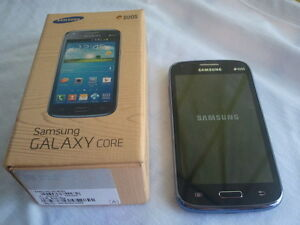 (BELL/VIRGIN) 16GB SAMSUNG GALAXY CORE INCLUDES BOX + CHARGER