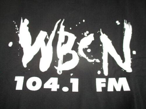 Vintage Delta Label - 104.1 FM RADIO Station WBCN (XL) T-Shirt