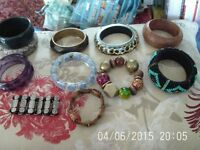 x12 - Bracelets/Bangles - All in Excellent Condition