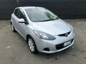 2007 Mazda 2 DY10Y2 Neo Silver 4 Speed Automatic Hatchback Invermay Launceston Area Preview