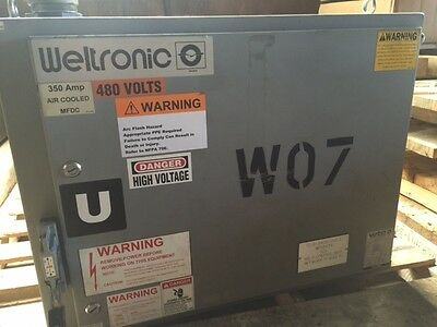 Weltronic Wtc Model 5002 350 Amp Resistance Weld Controller