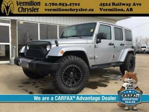 2017 Jeep Wrangler Unlimited Unlimited Sahara, Heated Leather, D
