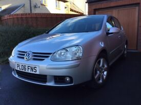 Exceptional Condition 2006 Volkswagen Golf TSI Sport One Owner From New With Full Service History