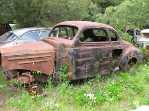 1941 PLYMOUTH COUPE.....rough condition