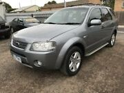 2006 Ford Territory SY Ghia (4x4) Silver 6 Speed Auto Seq Sportshift Wagon Newtown Geelong City Preview