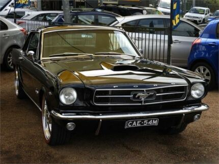 1965 Ford Mustang MY1965 Black 3 Speed Automatic Hardtop Minchinbury Blacktown Area Preview