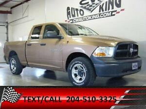 2012 Dodge Ram 1500 ST / Quad Cab / 4x4 / Work Truck
