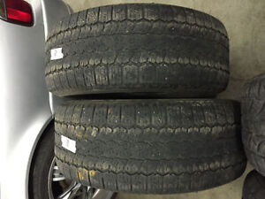 2 Dunlop Rover H/T - 275/55/20 - $50 For Both