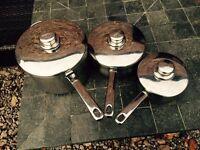 3 Stellar saucepans