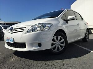 2011 Toyota Corolla ZRE152R MY11 Ascent White 4 Speed Automatic Hatchback Underwood Logan Area Preview