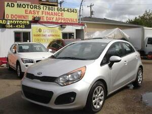 2013 KIA RIO GDI AUTO LOADED 82K-100% APPROVED FINANCING! Edmonton Edmonton Area image 1