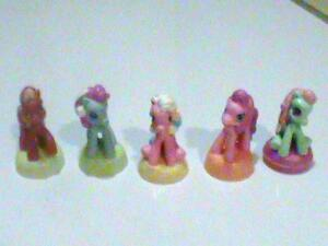 "2.5"" My Little Ponies"