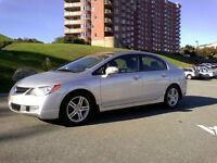 2008 Acura CSX Silver Sedan-great condition,fully loaded + tires