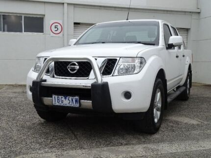 2014 Nissan Navara D40 S8 ST-X King Cab White 5 Speed Automatic Utility Bundoora Banyule Area Preview