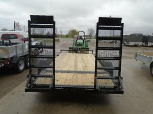 7 ton equipment trailer 83'' x 16' long w/ $500 IN FREE UPGRADES London Ontario image 3