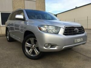 2008 Toyota Kluger GSU45R KX-S (4x4) Silver 5 Speed Automatic Wagon South Windsor Hawkesbury Area Preview
